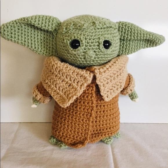 Handcrafted Yoda